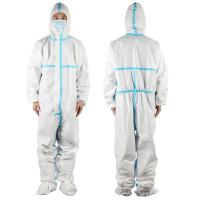 Best Anti Static Surgical Disposable Gown , Lightweight Medical Protective Coverall wholesale