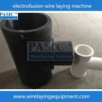 Best PASIC CNC electrofusion fittings tee pe wire laying machine for fittings electrofusion tee wholesale