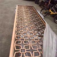 Best stainless steel sheet metal fabrication laser cut screen room divider from china factory wholesale