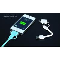 Best Blue Long 8 Pin Micro USB Charger Cable , Hi-Speed USB 2.0 Cable For IPhone4s wholesale