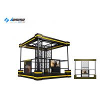 China Coin Operated Games Vr Tower Gun Entertainment Simulator Machine on sale