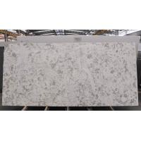 Best Lightweight Quartz Kitchen Worktops , White Engineered Quartz Countertop Slabs wholesale