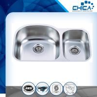 China stainless steel sink with undermount sylte for USA market with 18gauge and 16gauge on sale