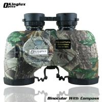 Military Waterproof Waterproof  Nautical a Binocular with compass 7x50mm   Fully multi-coated optics  hunting maple leaf