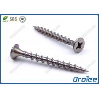 Buy cheap 410 Stainless Steel Drywall Screws Philips Bugle Head Coarse Thread from wholesalers