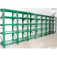 China Powder Coated Long Span Racking System Garage Storage Shelving RAL System Color on sale