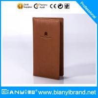 Best Luxury stars hotel PU leather products with printing logo wholesale