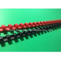 Buy cheap Colorful 1/2 Inch Wire Binding Combs 100Pcs / Box With Flexible Teeth product