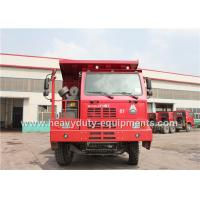 Best 50 ton 6x4 dump truck / tipper dump truck with 14.00R25 tyre for congo mining area wholesale