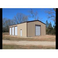 Best Easy Assembled Prefab Steel Frame Storage Buildings With Aluminum Windows wholesale