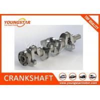 Best 4LE1 ISUZU diesel Engine Crankshaft 8-97115177-0 Alloy Nitride Steel wholesale