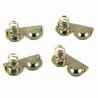 Best Springs with gold-plated for 7# battery box wholesale