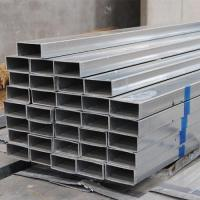 China Cold Rolled 2 X 4 Rectangular Steel Tubing , Welded Pre Galvanized Steel Pipe on sale