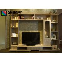 Details Of Living Room Modern Furniture Display Cabinets Wall Unit Laminate Design 101749280