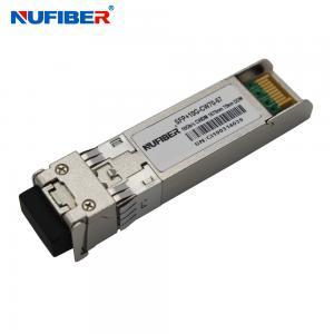 Best 80km 10G SFP+ Transceiver CWDM 1470nm 1570nm Duplex LC DFB Single Mode wholesale