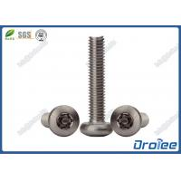 Best A4 / 316 Stainless Steel Anti-theft Torx Tamper Resistant Screws wholesale