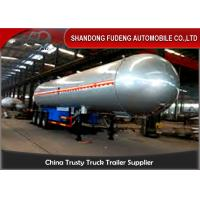 China 59700 Liters 25 Ton LPG Tank Trailer With 20% Vapor Space ,  LPG Transport Trailer on sale