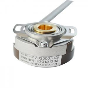 China External Diameter 40mm Hollow Shaft Incremental Encoders Through Hole 6mm 1024ppr KN40 on sale