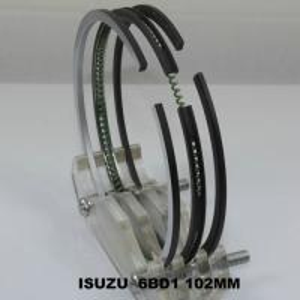 Best Car 6BD1 ISUZU Engine Piston Rings Set OEM 5-12181-023-2 , Chrome Piston Rings wholesale