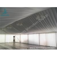 Best Air Conditioning Outdoor Event Tent , Beautiful Outside Event Tents Luxury Linings wholesale