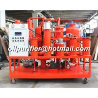 China Waste Hydraulic Oil Regeneration Machine, Vacuum Hydraulic Oil Purifier, purification with online particle counter on sale