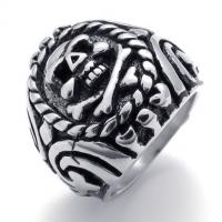 Best Tagor Jewelry Super Fashion 316L Stainless Steel Casting Rings Collection PXR024 wholesale