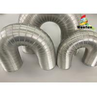 Best Aeration System Semi Rigid Vent Aluminum Duct Pipe Eco - Friendly For Ventilation wholesale