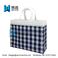 Best Promotional Cheap Customized Foldable Laminated Eco Fabric Tote Non-woven Shopping Bag wholesale