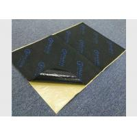 Best Black Rubber Foam Sound Proof Pads Self - Adhesive 7mm Fireproof Acoustic Material wholesale