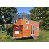 China Fire Resistance Modular Tiny House Mini Modular Homes Max 60m/S on sale