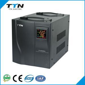 China PC-DVS voltage stabilizer / power regulators servo motor control 10kva ac automatic avrs on sale