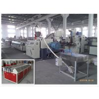 Best 380V Wood Plastic Composite Extruder Wpc Profile Production Line With Double Screw Extruder wholesale