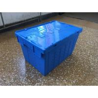 Best Attached Lid Mesh Body Plastic Storage Crates For Transportation wholesale