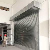 China Construction and Building Roller Shutter Rolling up Door with Remote on sale