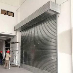 China Protection Rolling Door Sliding Door Roll up Garage Door for/Vehicles/Cars/Buildings on sale