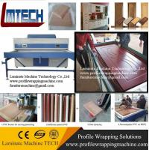 Best Automatic Cabinet door Vacuum film covering machine wholesale