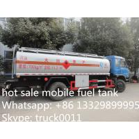 Best hot sale dongfeng 10,000L fuel tank, mobile fuel truck for sale, Euro  3 competitive price oil truck for sale wholesale