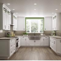 Best Paint Door Finish Solid Wood Kitchen Cabinets Solid Wood Material Blum / Dtc Hardware wholesale