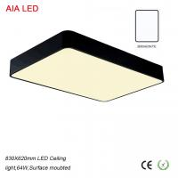 Best 32W 800x620mm High quality decorative indoor LED Ceiling light for hotel wholesale