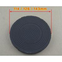 China Porous Catalytic Infrared Honeycomb Ceramic Plate Black Painting Energy Saved on sale