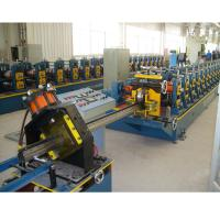 Best Supermarket Upright Rack Roll Forming Machine Servo Following Cutting wholesale