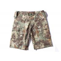 Best Waterproof Tactical Cargo Shorts Mandrake Lightweight Slim Fit Breathable Material wholesale