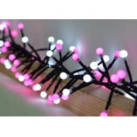 Best White / Pink Festival String Lights 3 Meters 400 Bulbs With 8 Different Modes wholesale
