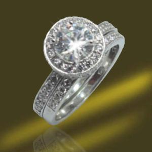 Best 2013 New Designed CZ Wedding Rings (RSA3318) wholesale