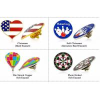 Best Bitcoin Bird Bear Paw Soft Enamel Pins , Custom Lapel Pins Australia Flag Arrow Apple Logo wholesale