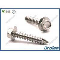 Best A2/304/410 Stainless Steel Hex Flanged Head  Roofing Screw, Type 17 Point wholesale