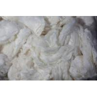 Best raw silk fiber, mulberry silk noil for needle felt sheets wholesale