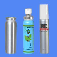 Cheap 20ml Metal Aluminum Spray Bottle with cap and pump sprayer for Aerosol for sale
