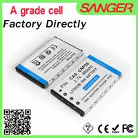 Best Digital camera battery for casio CNP20 with shenzhen factory price wholesale
