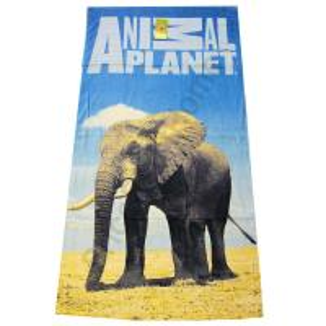 China 100% Cotton Velour Reactive CMYK & PHOTO Printed Beach towel on sale